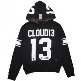 CLOUD13 / 13 SWEAT PULL PARKA (BLACK)