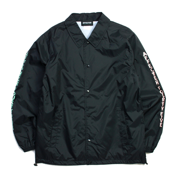 AFFECTER / DRIPIN' COACH JKT (BLACK)