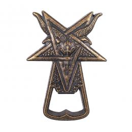 THRASHER X HUF / GOAT BOTTLE OPENER (BRONZE)