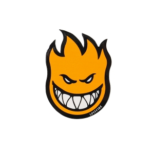 SPITFIRE / FIREBALL STICKER SMALL (ORANGE)