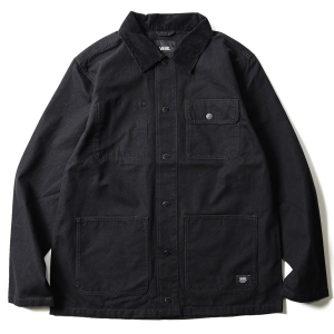 VANS / DRILL CHORE COAT (BLACK)