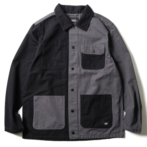 VANS / DRILL CHORE COAT (BLACK/ASPHALT)