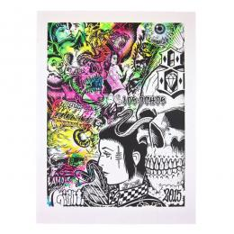 REBEL8 × MISHKA / GATES OF HELL POSTER