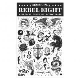 REBEL8 / MIKE GIANT TEMPORARY TATTOO FLASH
