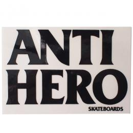 ANTIHERO / BLACK HERO STICKER MEDIUM (BLACK)
