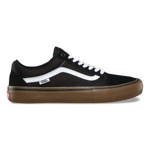 VANS / OLD SKOOL PRO (BLACK/WHITE/MEDIUM GUM)