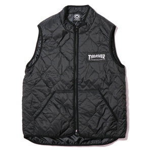 THRASHER / MAGAZINE LOGO VEST (BLACK)