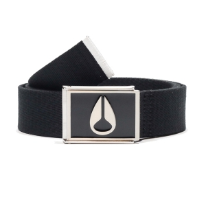 NIXON / ENAMEL WINGS BELT (BLACK)