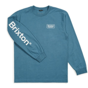 BRIXTON / PALMER SV L/S STANDARD TEE (ORION BLUE)