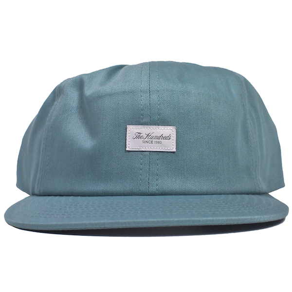 THE HUNDREDS / SCRIPT SNAPBACK CAP (PALE TURQUOISE)