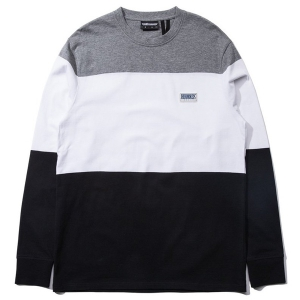THE HUNDREDS / FOSTER L/S TEE (BLACK)