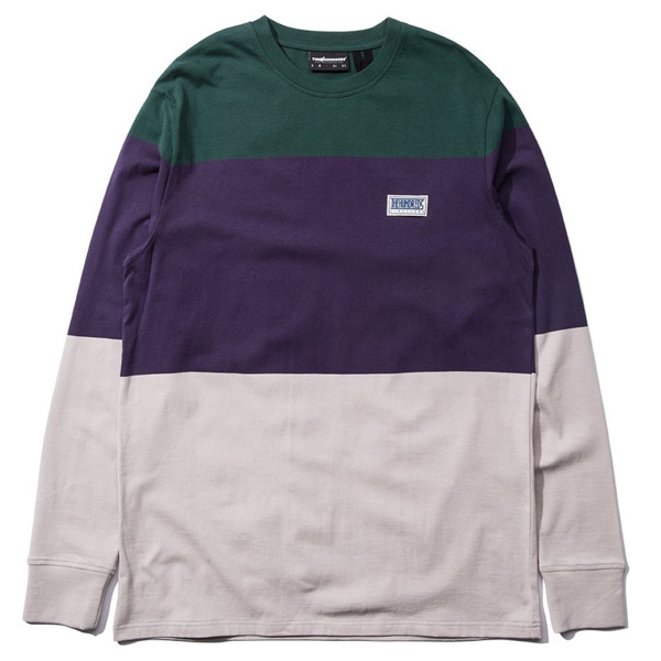 THE HUNDREDS / FOSTER L/S TEE (SMOKE)