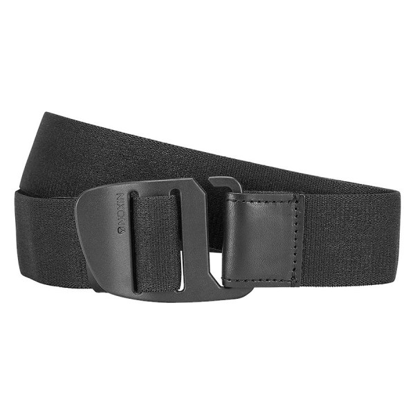 NIXON / EXTEND HOOK BELT (ALL BLACK)