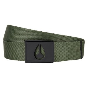 NIXON / SPY BELT (AVOCADO)