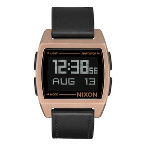 NIXON / THE BASE LEATHER (ANTIQUE COPPER/BLACK)