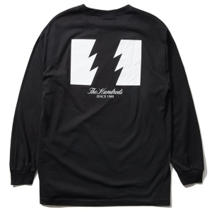 THE HUNDREDS / FOREVER WILDFIRE L/S TEE (BLACK)