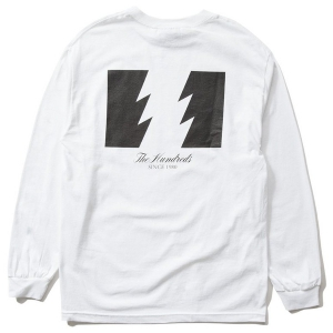THE HUNDREDS / FOREVER WILDFIRE L/S TEE (WHITE)