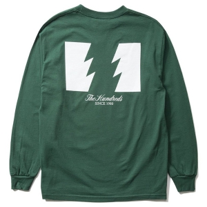 THE HUNDREDS / FOREVER WILDFIRE L/S TEE (FOREST)