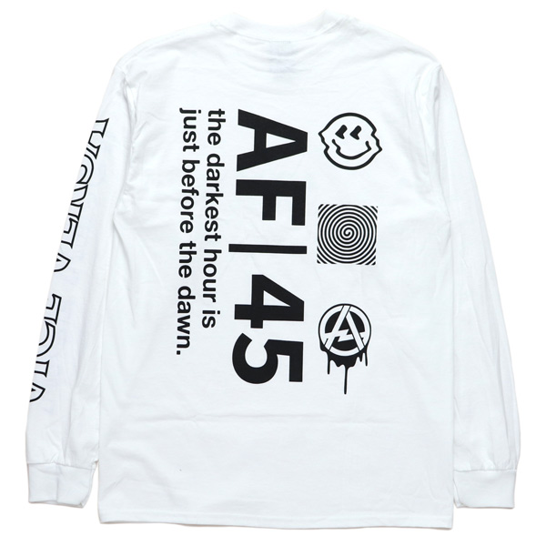 AFFECTER / DAWN L/S TEE (WHITE)