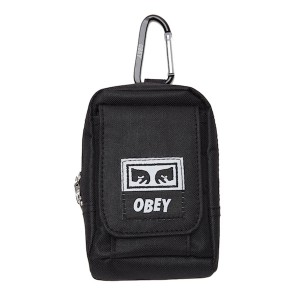 OBEY / DROP OUT UTILITY SMALL BAG (BLACK)