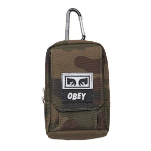 OBEY / DROP OUT UTILITY SMALL BAG (FIELD CAMO)