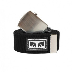 OBEY / BIG BOY WEB BELT (BLACK)