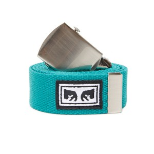 OBEY / BIG BOY WEB BELT (TEAL)