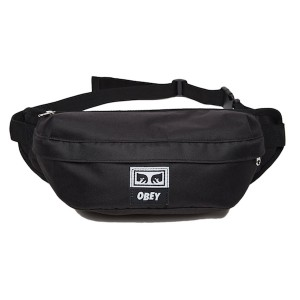 OBEY / DROP OUT SLING PACK (BLACK)