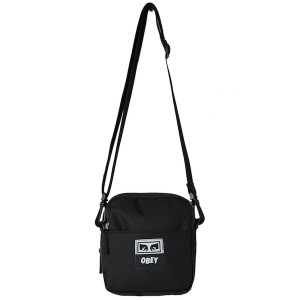 OBEY / DROP OUT TRAVELER BAG (BLACK)