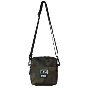 OBEY / DROP OUT TRAVELER BAG (FIELD CAMO)
