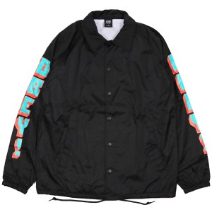 OBEY / NEW WORLD 2 COACHES JACKET (BLACK)