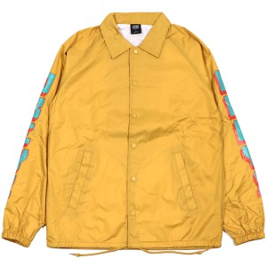 OBEY / NEW WORLD 2 COACHES JACKET (YELLOW)
