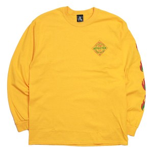 AFFECTER / SPICE L/S TEE (YELLOW)