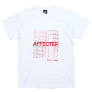 AFFECTER / THANX S/S TEE (WHITE)