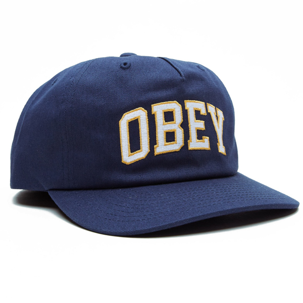OBEY / DROPOUT SNAPBACK CAP (NAVY)