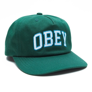 OBEY / DROPOUT SNAPBACK CAP (FOREST)