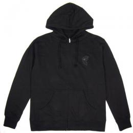 FAMOUS STARS AND STRAPS / FAUX BOH PATCH HOODIE (BLACK)