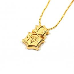 REBEL8 / METAL 8 NECKLACE (GOLD)