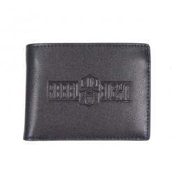 REBEL8 / REBEL8 LEATHER WALLET (BLACK)