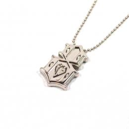 REBEL8 / METAL 8 NECKLACE (SILVER)