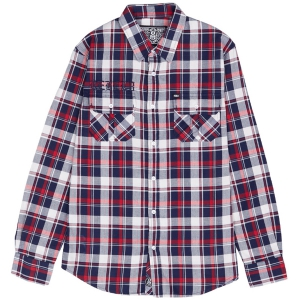 REBEL8 / KINGSTON FLANNEL SHIRT (RED)