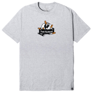 REBEL8 / ASHTRAY TEE (ATHLETIC HEATHER)
