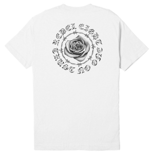 REBEL8 / TRUST NO ONE TEE (WHITE)