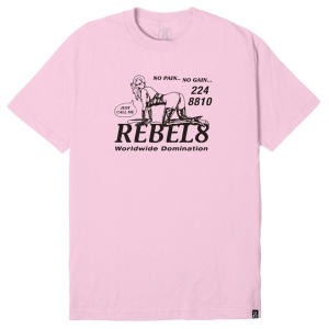 REBEL8 / PLEASURE TEE (PINK)