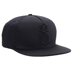 REBEL8 / ABIDE SNAPBACK CAP (BLACK)