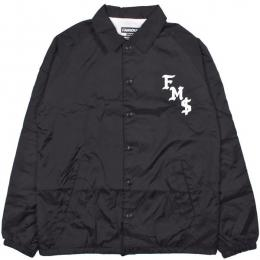 FAMOUS STARS AND STRAPS / FMS SICKSTEP COACHES JACKET (BLACK)