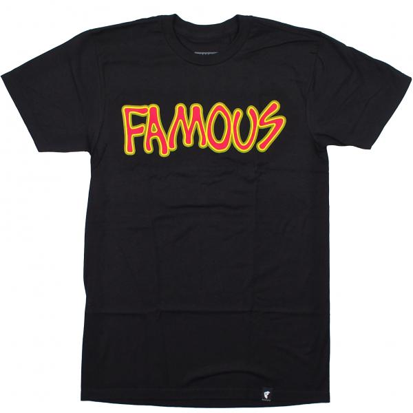 FAMOUS STARS AND STRAPS / BRAINS TEE (BLACK)