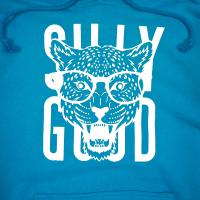 SILLY GOOD / GLASSE TIGER PULLOVER PARKA (L.BLUE)