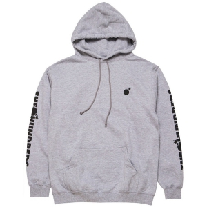 THE HUNDREDS / FOREVER SOLID BOMB CREST PULLOVER HOODIE (ATHLETIC HEATHER)