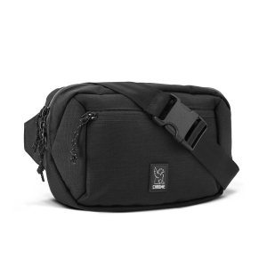CHROME / ZIPTOP WAISTPACK (BLACK)